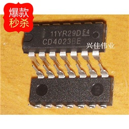 CD4023BE (3-input NAND Logic Gate)