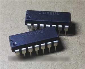 CD4081BD (Quad 2-Input AND Gate)