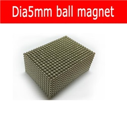 Ferrite Ball Magnet (5mm Diameter)