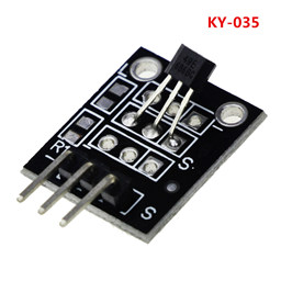 Analog Hall Magnetic Sensor Module (KY-035 3pin)