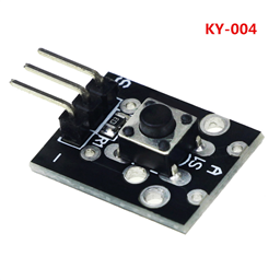 Tactile Button Switch Module 6x6x5mm (KY-004)