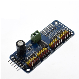 16-Channel 12-bit PWM/Servo Driver - I2C interface - PCA9685 Module