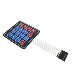4x4 Matrix (16 Key) Membrane Keypad