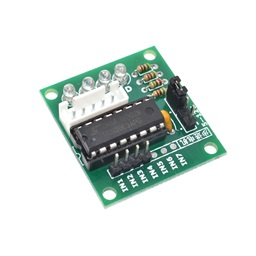 High-Power ULN2003 Stepper Motor Driver Board Test Module (Without Motor)