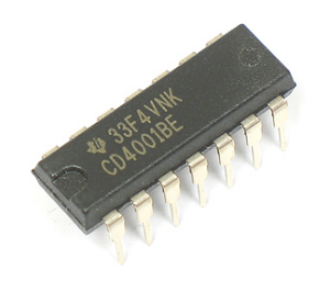 CD4001BE (Quad 2-input NOR Logic Gate)