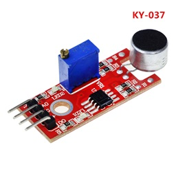 Microphone Voice & Sound Detection Sensor Module (KY-037)