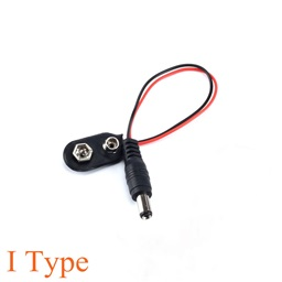 9V Battery Power Cable with Jack (13 cm)
