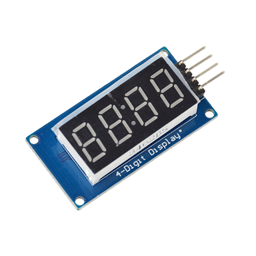 4-Digit 7-Segment Display Module (TM1637)