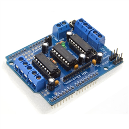 High Power L293D Motor Control Arduino Shield (4 DC Motors or 2 Servo Motors)
