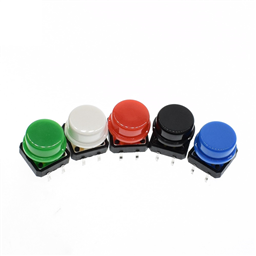 RED Big Button Tactile Switch (12X12MM)