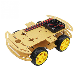 4 Wheeled Car (4WD) Chassis DIY Kit
