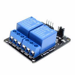 2-Channel Relay Module (5V Low-Level-Trigger )