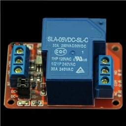 5V 30A 1-Channel Relay Module with Optocoupler H/L Level Triger