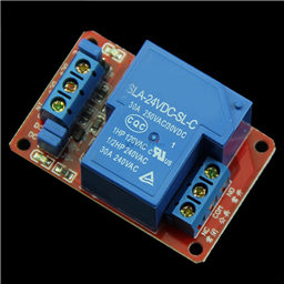 24V 30A 1-Channel Relay Module with Optocoupler H/L Level Triger