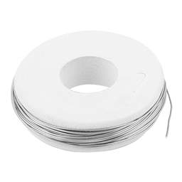Uxcell Iron-chromium-aluminium (FeCrAl) Heater Wire (0.7mm x 750cm | 24AWG)