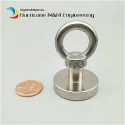 18KG Pulling Pot Fishing Neodymium Magnet (Dia 32mm)