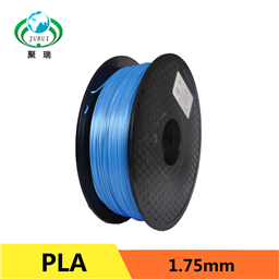 3D Printer PLA Filament 0.25 kg 1.75mm Silk Blue (Jurui Brand)