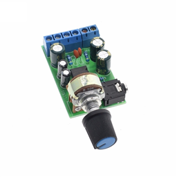 Stereo Audio Amplifier Module(Dual Channel AMP AUX Amplifier Board Module DC 1.8-12V, TDA2822M 2.0)