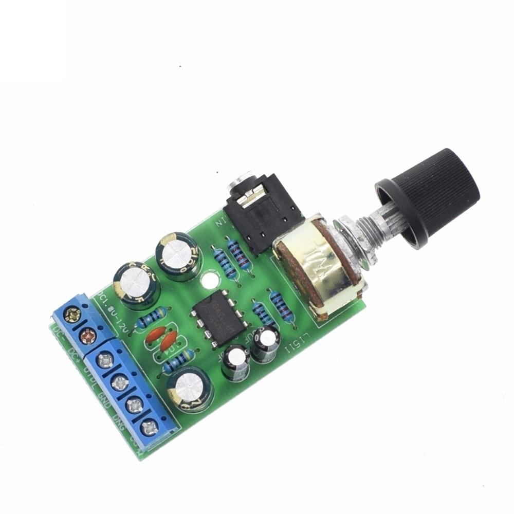 Stereo Audio Amplifier Moduledual Channel Amp Aux Board Tda2822 Power Circuit 2761 Module Dc 18 12v Tda2822m 20