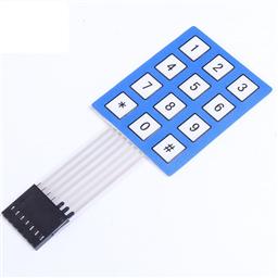 3x4 Membrane Matrix Array Numeric Keypad