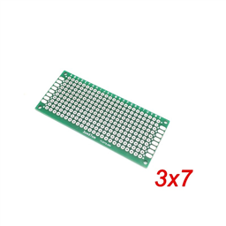 Double Sided Prototype PCB Universal Printed Circuit Board 3x7cm