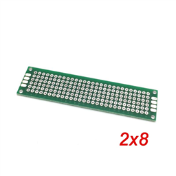 Double Sided Prototype PCB Universal Printed Circuit Board 2x8cm