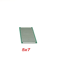 Double Sided Prototype PCB Universal Printed Circuit Board 5x7cm