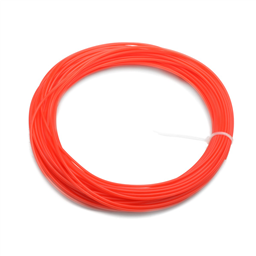 3D Printer PLA Filament 22Meter 1.75mm ORANGE (Unkown Brand)