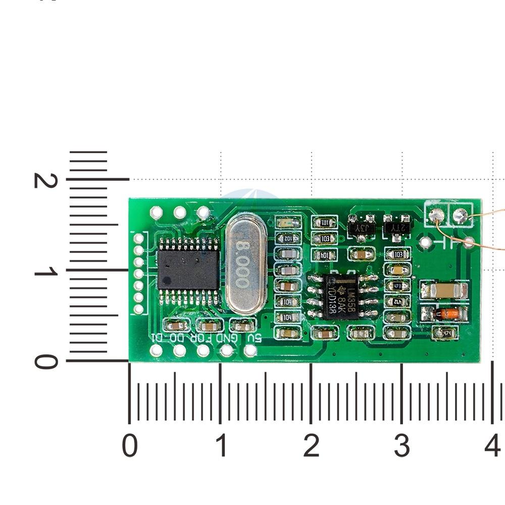 125KHz RFID Reader Module (5V, UART 3Pin, EM4100) - South Africa
