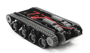 Arduino Robot Tank Chassis (Plastic Track)