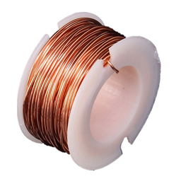 ENAMELLED COPPER WIRE REEL (10 METERS, 0.5MM DIAMETER) aka Magnetic Wire