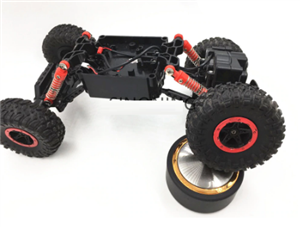 Bigfoot Rock Crawler 4WD SN170 (Steerable Front Wheels)