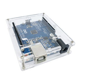 Transparent Arduino Uno Enclosure Box