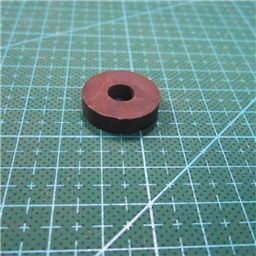 Ferrite Ring Magnet (7mm Hole  , 21mm x 5mm Diameter)