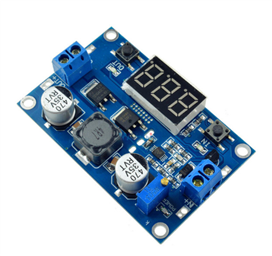 100W DC-DC Booster Step up Module (1 3-35V to 3.5~35V  LTC187, With LED Voltmeter)
