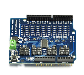 16 Channel Servo Shield  (12bit PWM/Servo Driver-I2C Interface PCA9685)