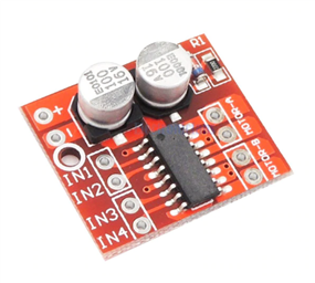 Dual DC Motor Driver Module (1.5A, 2-Way, MX1508 ,PWM Speed Control; Dual H-Bridge)