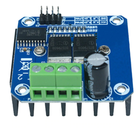 High-Power Stepper Motor Dual H-Bridge Driver  (43A, BTS7960B)