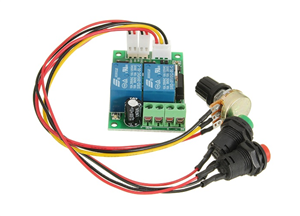 9V-24V, 3A DC PWM Motor Speed Controller & Tester (With buttons)