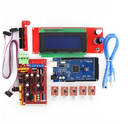 3D Printer Kit (RAMPS 1.4 + MEGA 2560 + 5XA4988 DRIVER + LCD 2004)