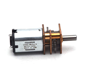 12V 600RPM Gear Reduction DC Motor