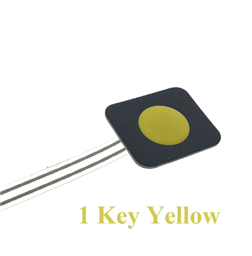 1-Key YELLOW Membrane Button Switch