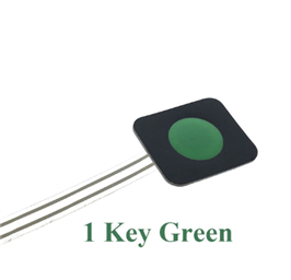 1-Key GREEN Membrane Button Switch