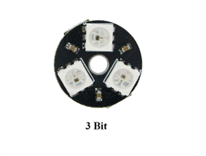 3-Bit RGB LED Ring Module