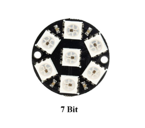7-Bit RGB LED Ring Module