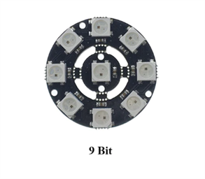 9-Bit RGB LED Ring Module