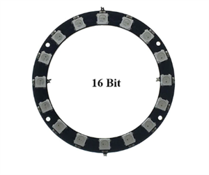 16-Bit RGB LED Ring Module
