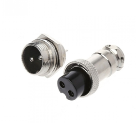 GX16-2 Connector Plug and Jack Set