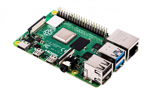 Raspberry Pi 4 Model B - 1GB (With Power Cables)