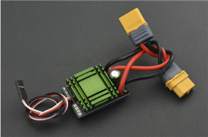 DFRobot 20A Bidirectional Brushed ESC Speed Controller without Brake (XT60 Connector)